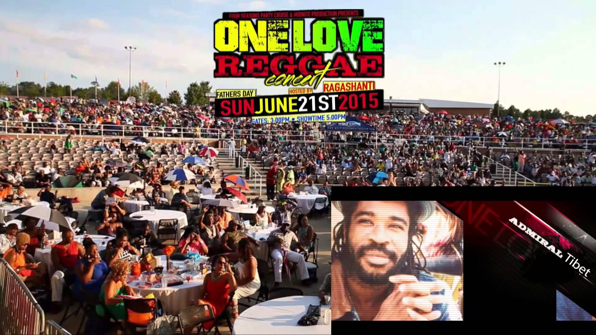 One Love Reggae Concert 2015 (Ad) [5/13/2015]
