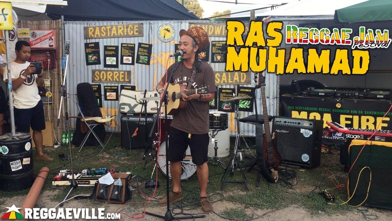 Ras Muhamad @ Da Sandwichmaker - Reggae Jam 2018 [8/2/2018]