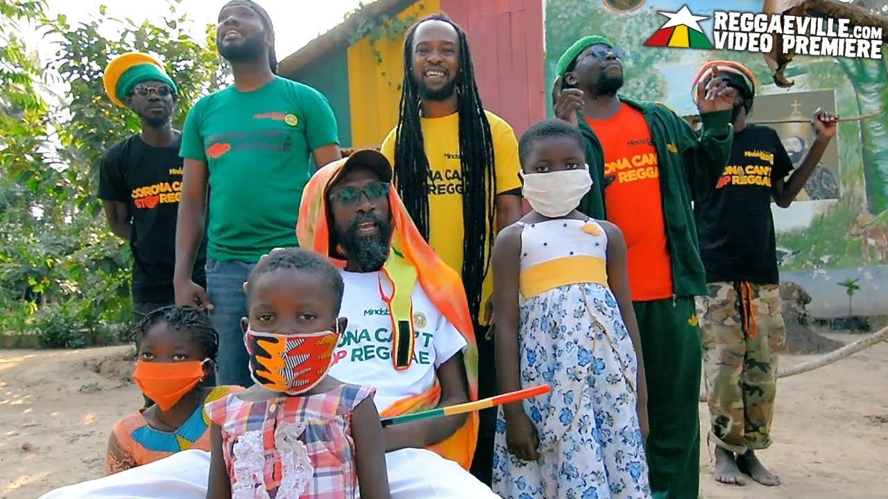 Jah Light, Ras Kalif & General Dimitri - Corona Can't Stop Reggae [8/27/2020]
