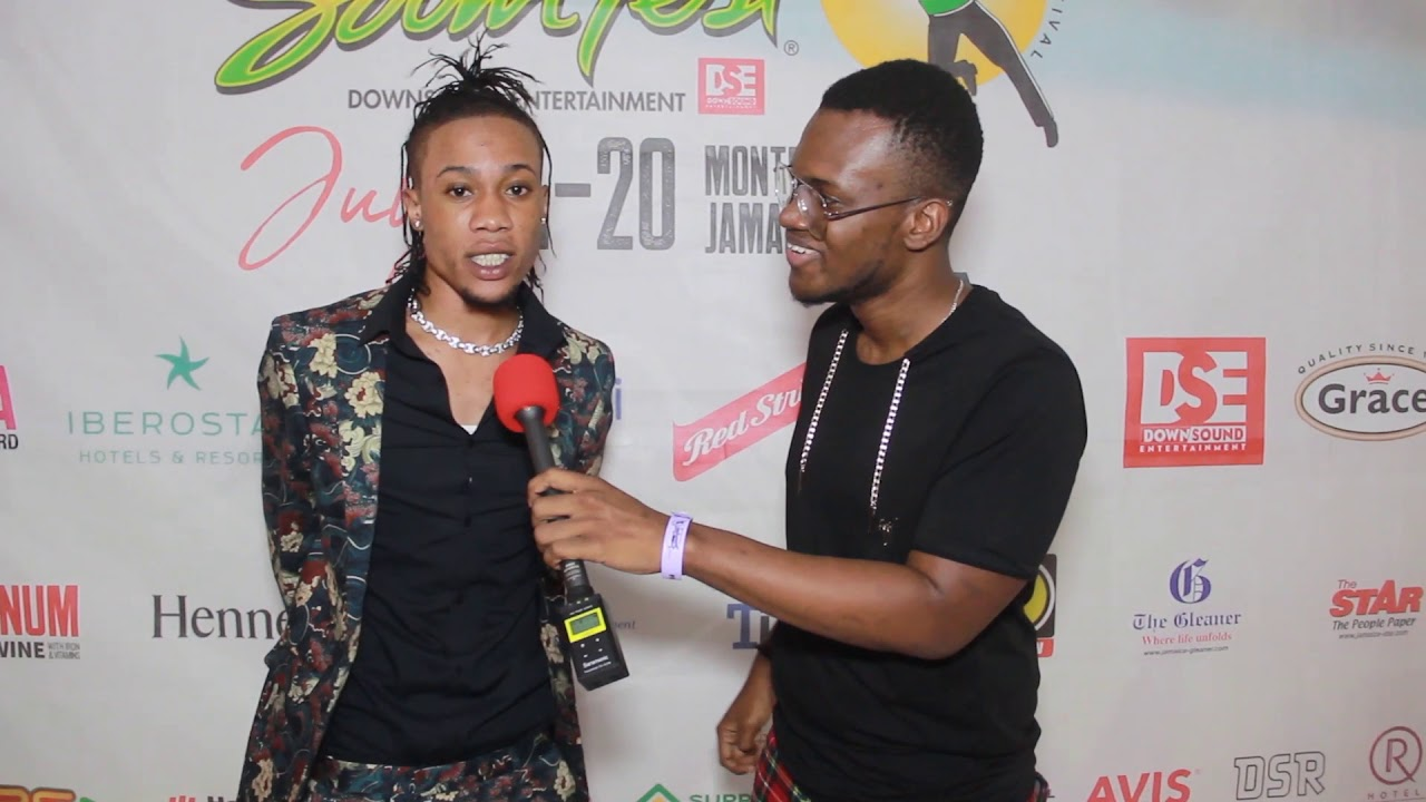 Intence Interview by Dutty Berry @ Reggae Sumfest 2019 [7/19/2019]