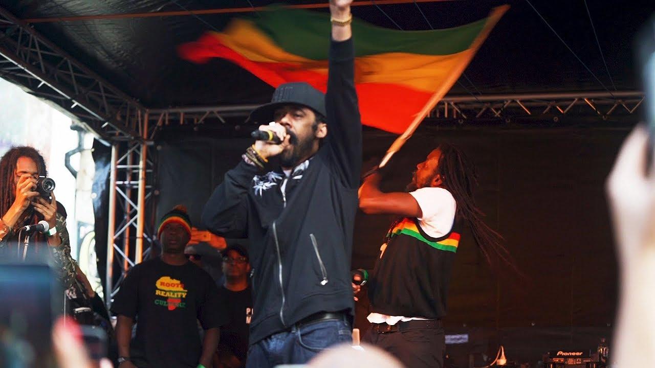 Damian Marley in Bristol, UK @ Star And Garter Pub Opening [6/7/2019]