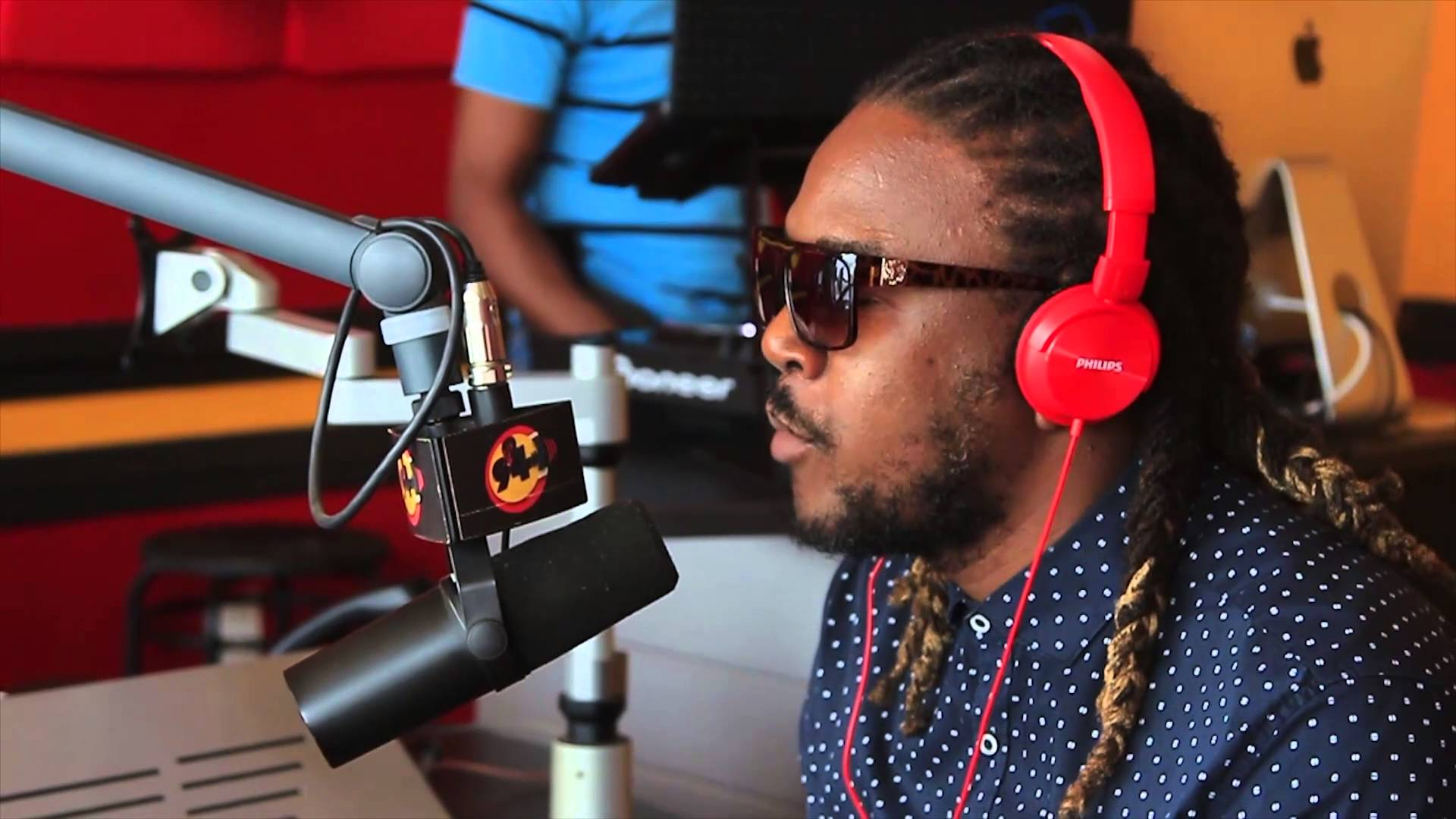 Interview with Bay C @ 94.1 in Guyana [12/26/2015]