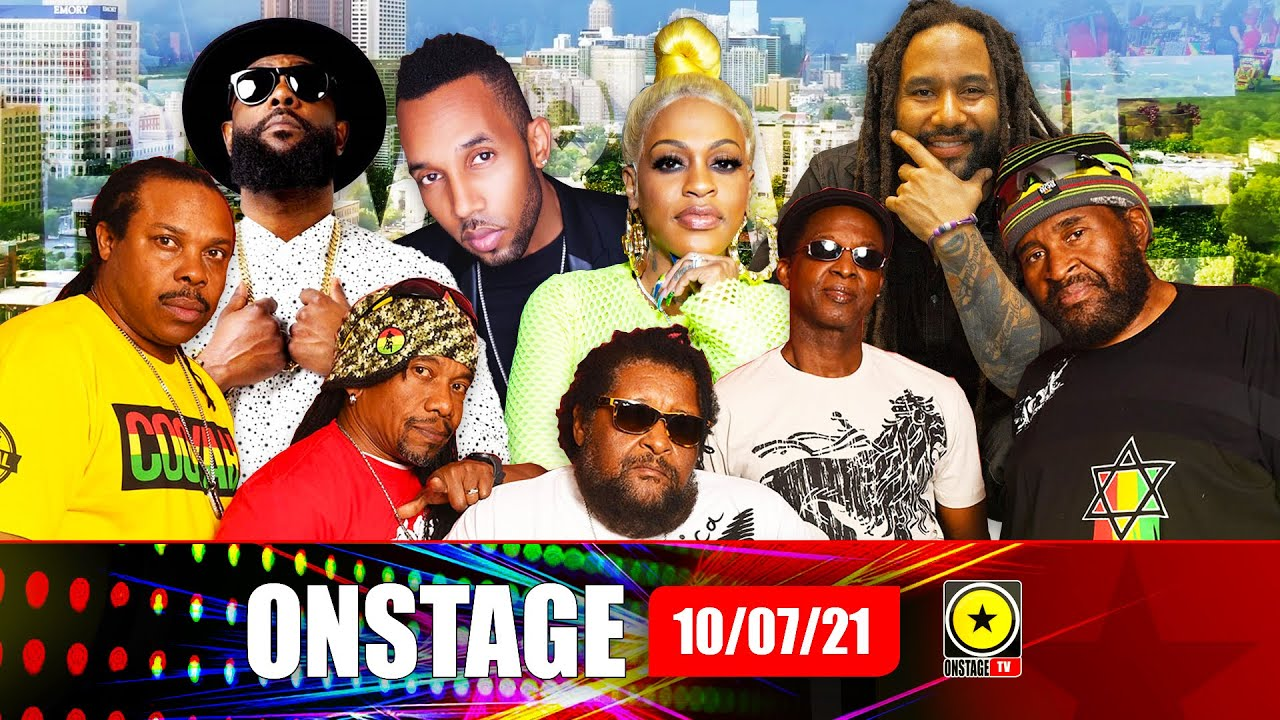 Jamaicans Install Rum & Wine Fest Atlanta, Ky-mani Marley, Cham, Bunji Garlin, Inner Circle & LiI Mo (Onstage TV) [7/10/2021]