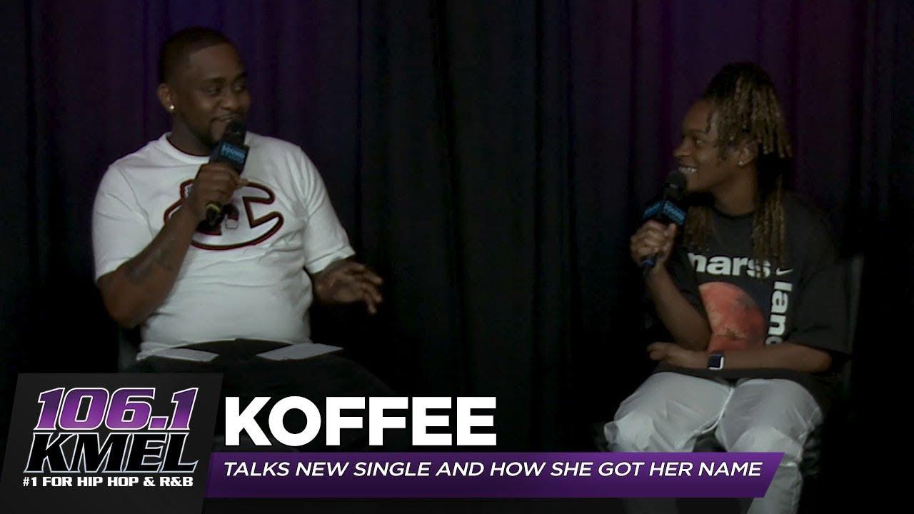 Koffee Interview @ 106 KMEL [8/28/2019]