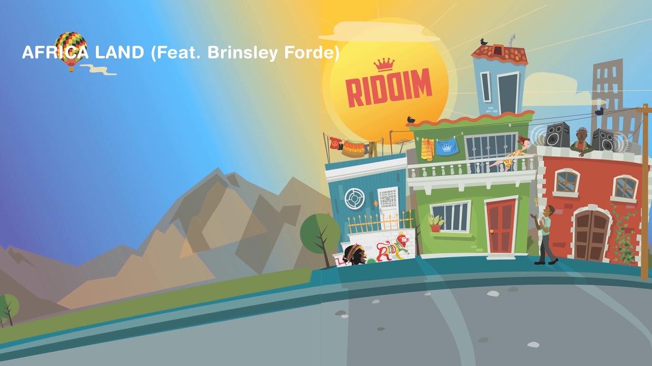 Riddim feat. Brinsley Forde - Africa Land (Lyric Video) [9/2/2019]
