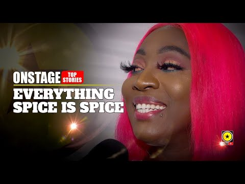 Spice Interview @ Reggae Sumfest 2019 (OnStage TV) [7/25/2019]