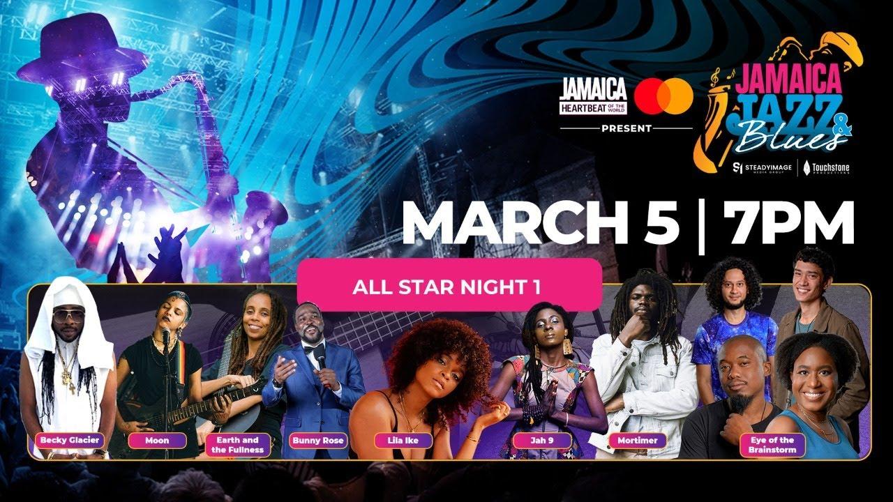 Jamaica Jazz & Blues 2021 - Day 2 (Live Stream) [3/5/2021]
