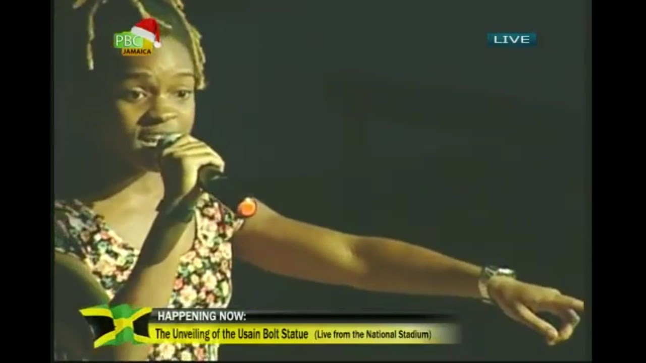 Koffee sings Legend to Usain Bolt [12/3/2017]