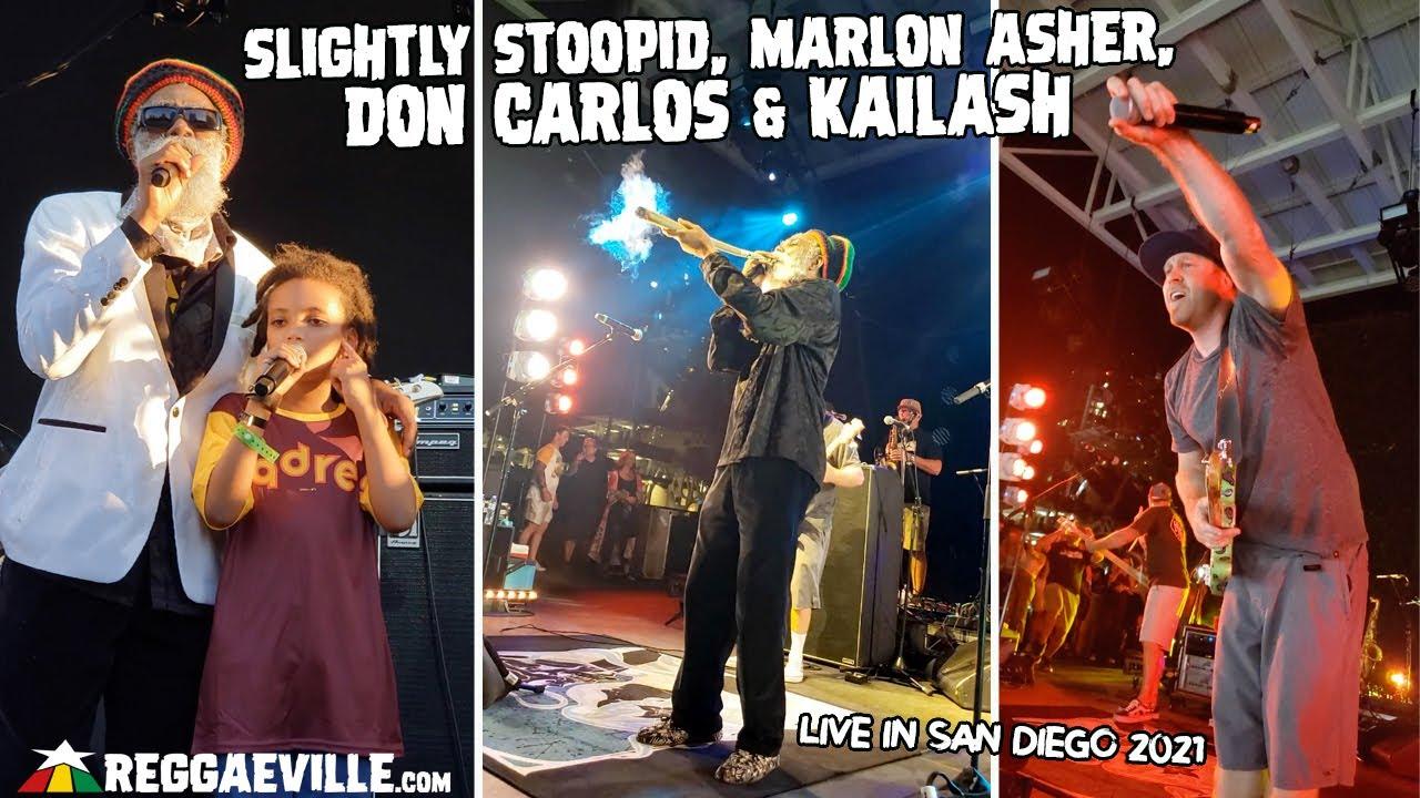 Slightly Stoopid, Marlon Asher, Don Carlos & Kailash in San Diego, CA @ Petco Park [9/11/2021]