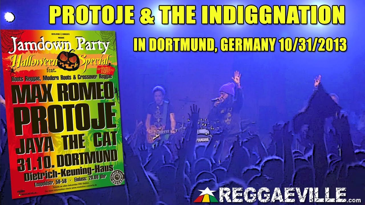 Protoje & The Indiggnation in Dortmund, Germany [10/31/2013]