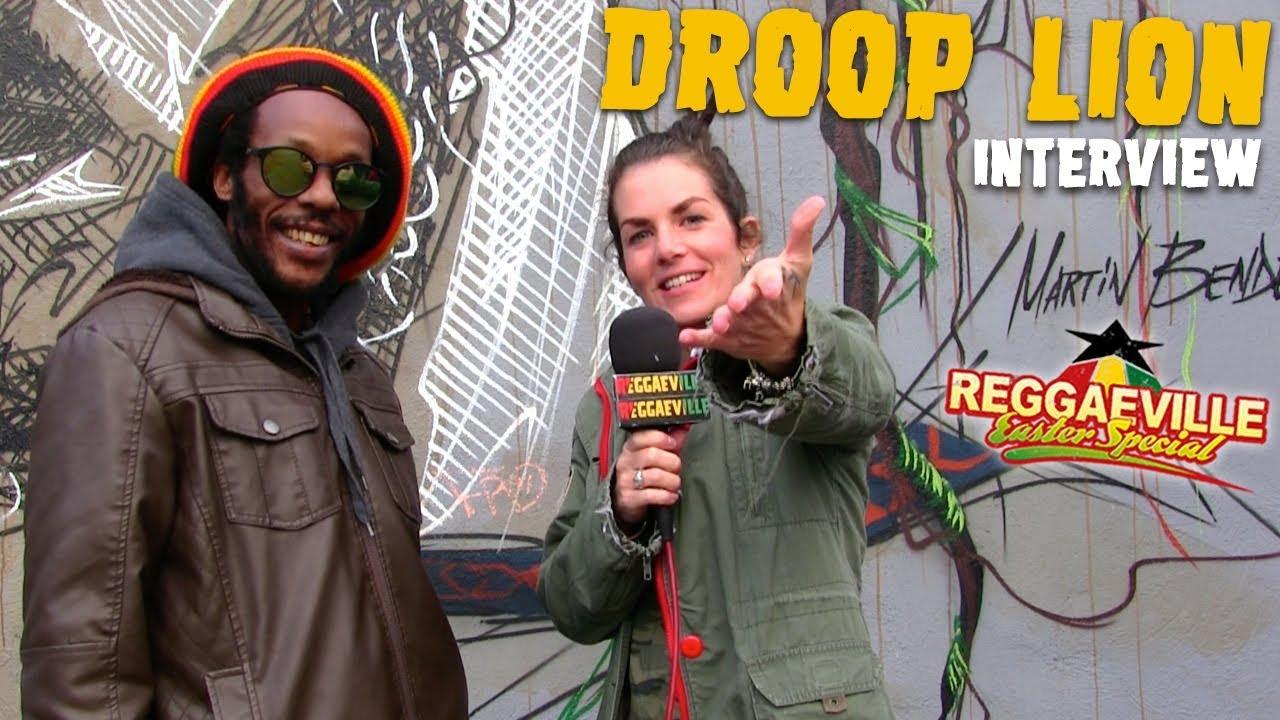 Droop Lion - Interview in Dortmund @ Reggaeville Easter Special 2018 [3/31/2018]