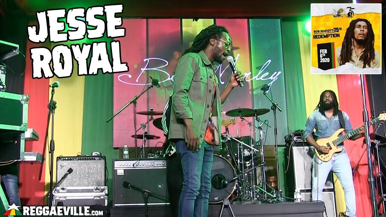 Jesse Royal @ Bob Marley 75th Earthstrong Celebration in Kingston, Jamaica [2/6/2020]