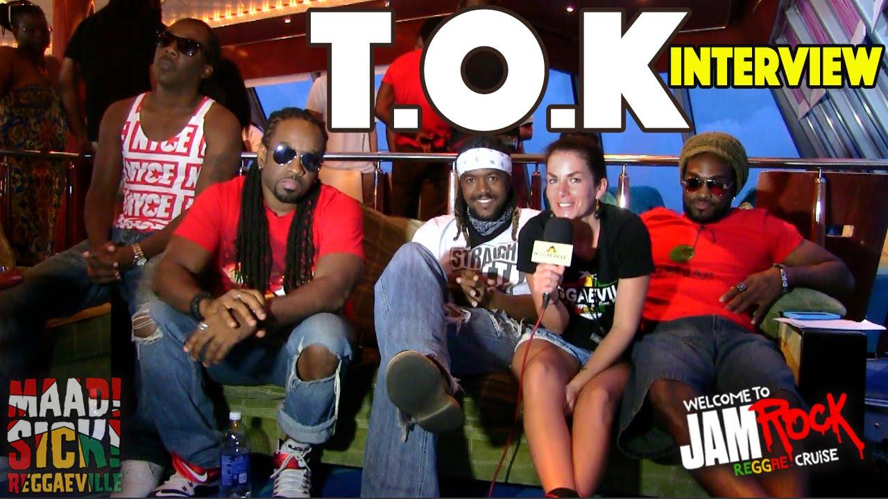 T.O.K Interview @ Welcome To Jamrock Reggae Cruise 2015 [12/4/2015]