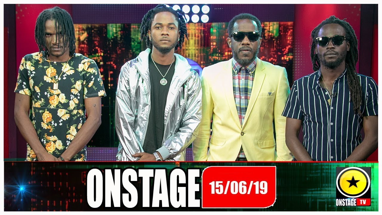 Wayne Marshall, Jesse Royal, Shakespear D-Dondadda, Lee Dann @ OnStage TV [6/15/2019]