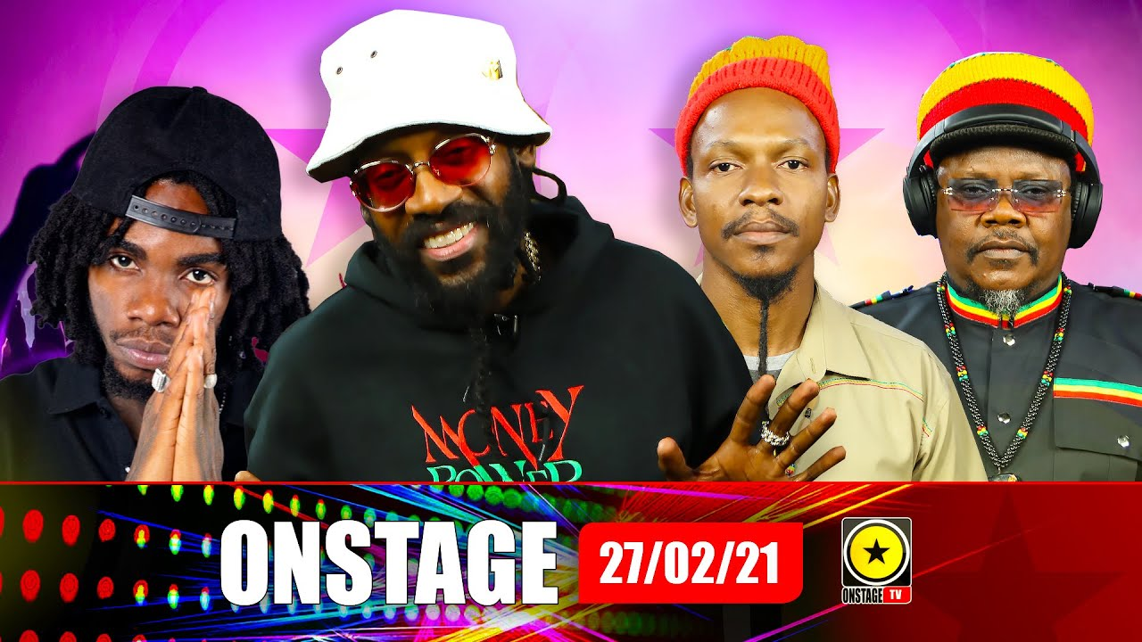 Tarrus Riley, Nature Ellis & Luciano's Call To Jah, Alkaline's Tampa Live (OnStage TV) [2/27/2021]