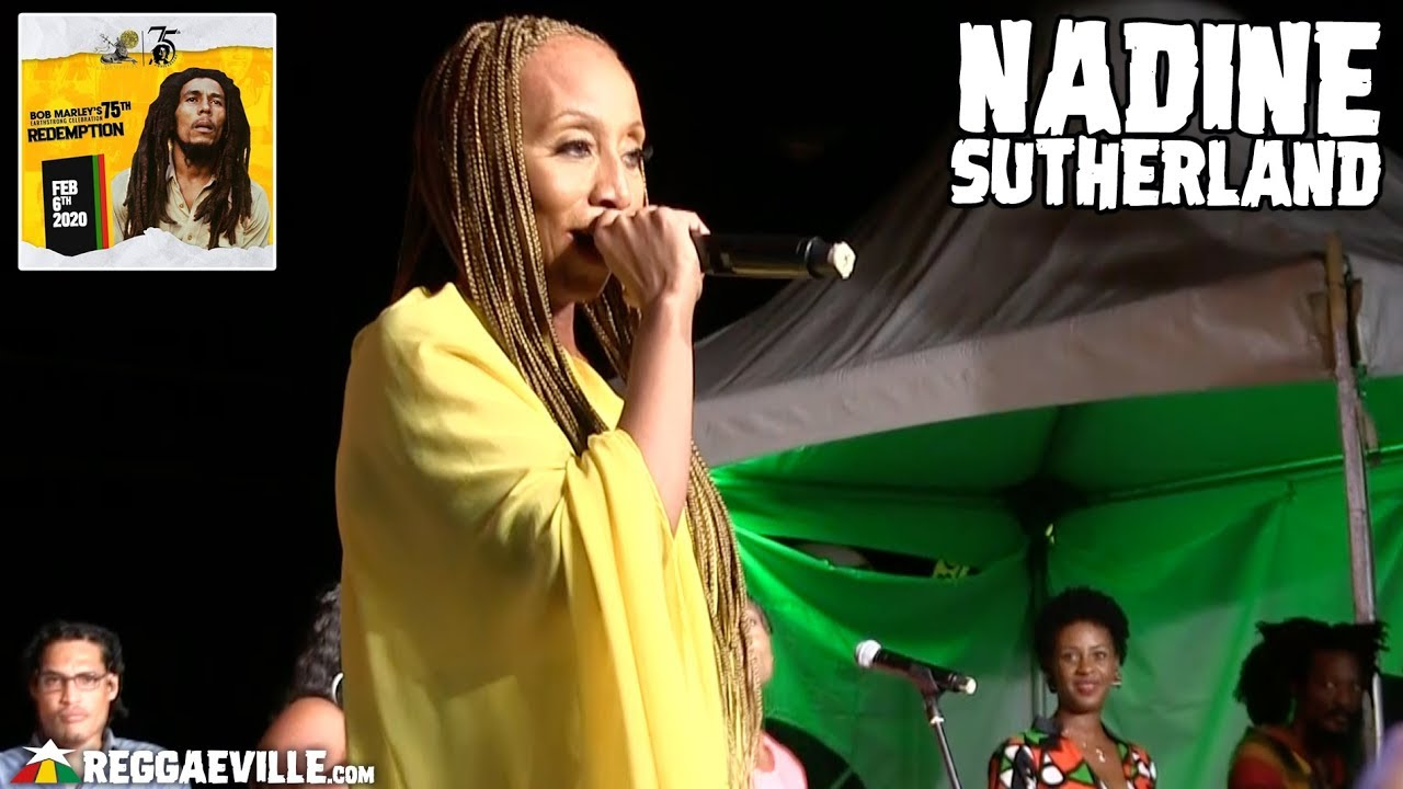 Nadine Sutherland @ Bob Marley 75th Earthstrong Celebration in Kingston, Jamaica [2/6/2020]
