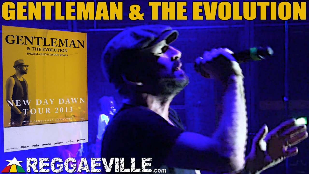Gentleman & The Evolution with Daddy Rings in Munich, Germany [12/7/2013]