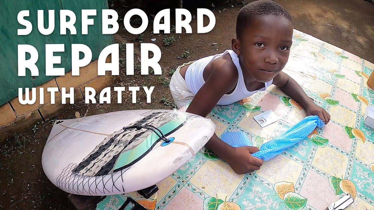 Ras Kitchen - Surfboard Repair with Ratty & Matthew! [2/7/2020]