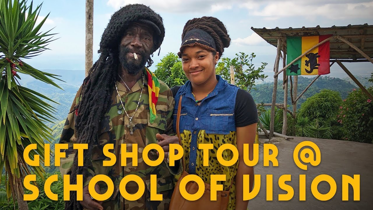 Ras Kitchen - Nyabinghi Rasta Giftshop Tour with Tashea @ School of Vision Jamaica [7/22/2019]