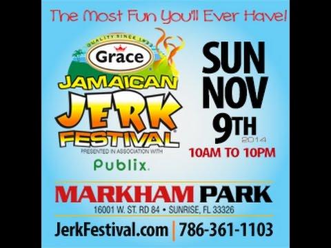 Jamaican Jerk Festival Florida 2014 (TV Ad) [10/27/2014]