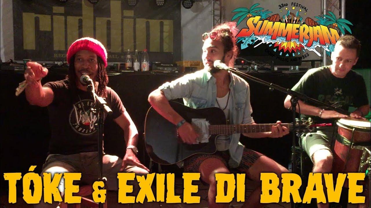 Exile Di Brave & Tóke - Rasta Party @ Riddim Roots Center - SummerJam 2018 [7/5/2018]