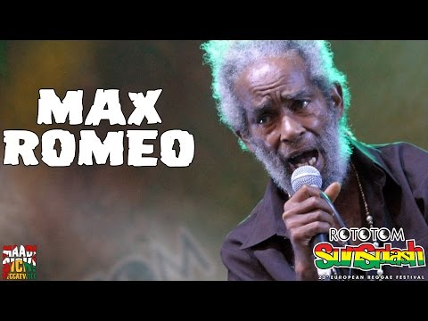 Max Romeo @ Rototom Sunspalash 2016 [8/21/2016]