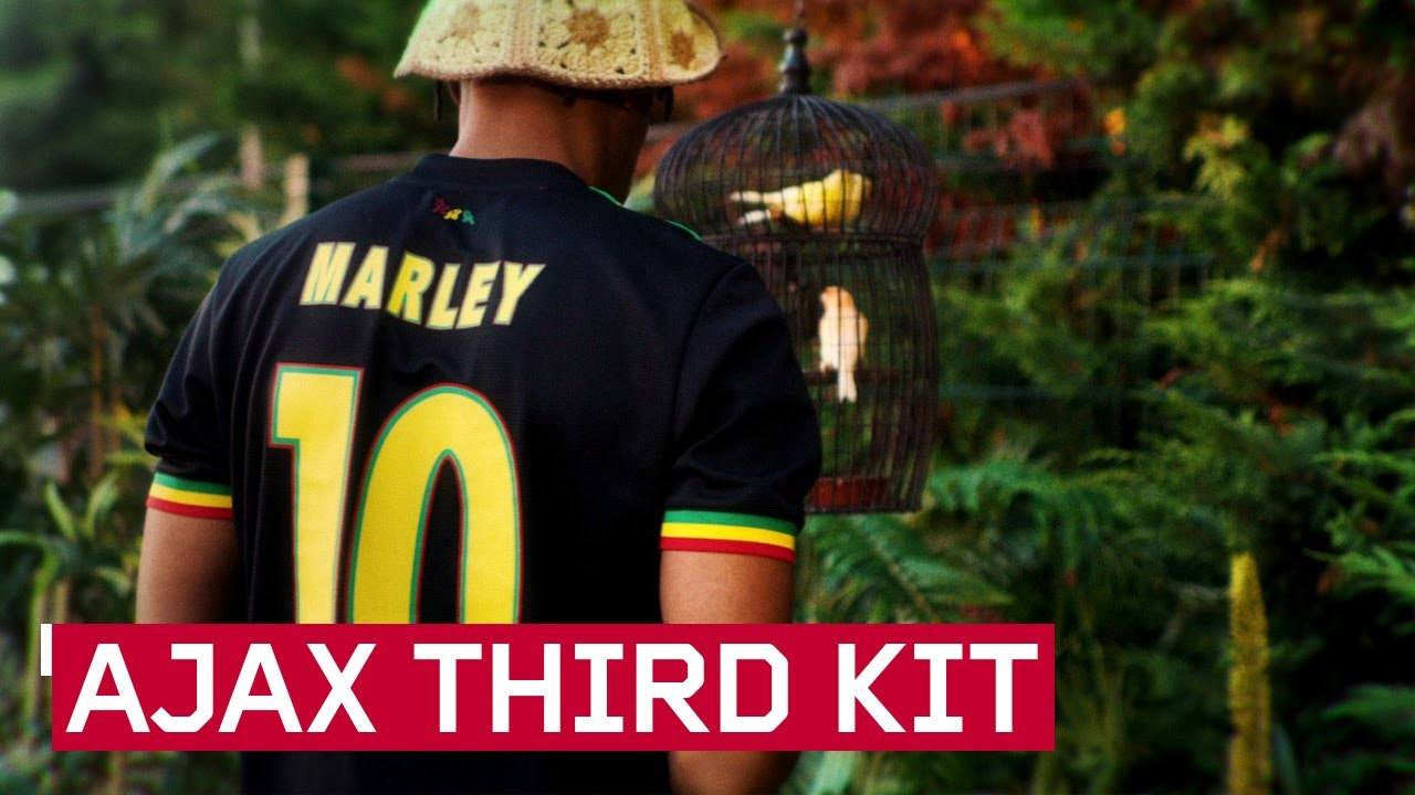 AFC Ajax Amsterdam - Third Kit 2021/22 (Inspired by Bob Marley - Three Little Birds) [8/20/2021]