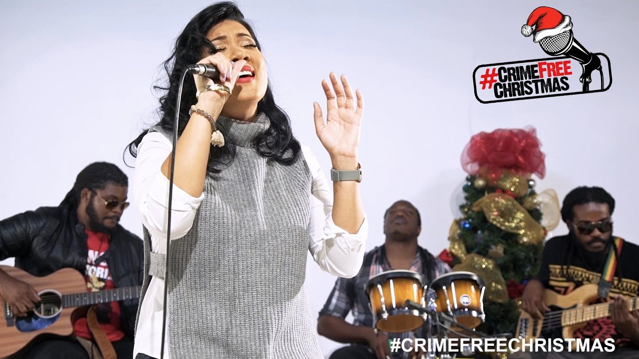 Tessanne Chin - Oh Holy Night @ Crime Free Christmas Project 2016 [12/6/2016]