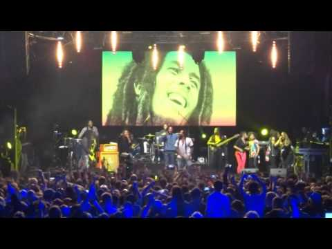 Ky-Mani, Julian & Jo Mersa Marley - Could You Be Loved @ Afro Pfingsten 2015 [5/23/2015]