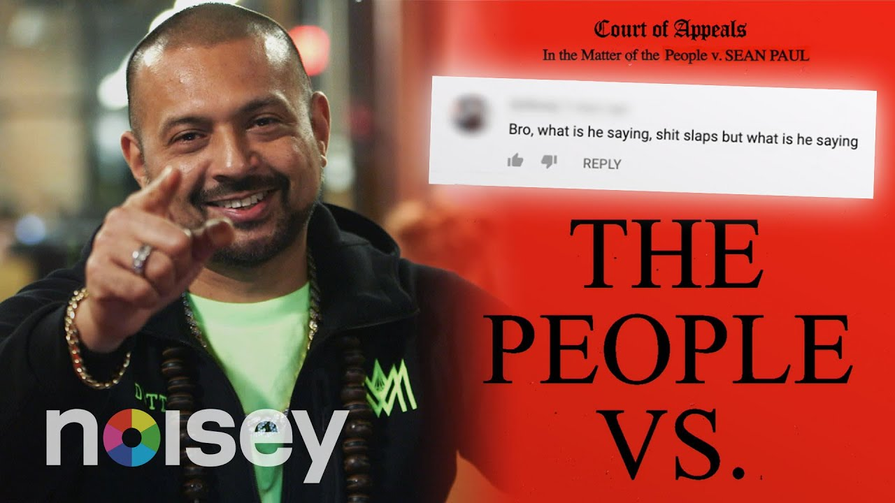 Sean Paul Reacts To Comments On His Music Videos @ The People Vs. | Noisey [4/28/2020]