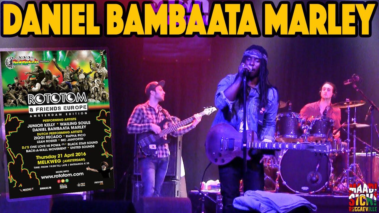 Daniel Bambaata Marley @ Rototom & Friends - Amsterdam 2016 [4/21/2016]