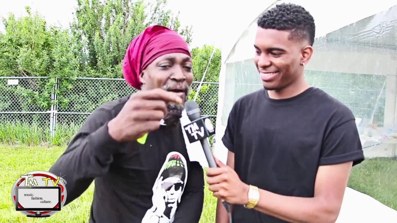 Interview with Junior Reid @ Summer Of Reggae 2016 by TMTV [6/5/2016]