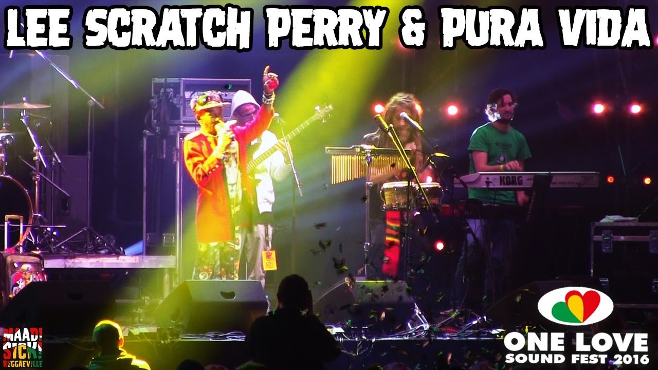 Lee Scratch Perry & Pura Vida @ One Love Sound Fest 2016 [11/19/2016]