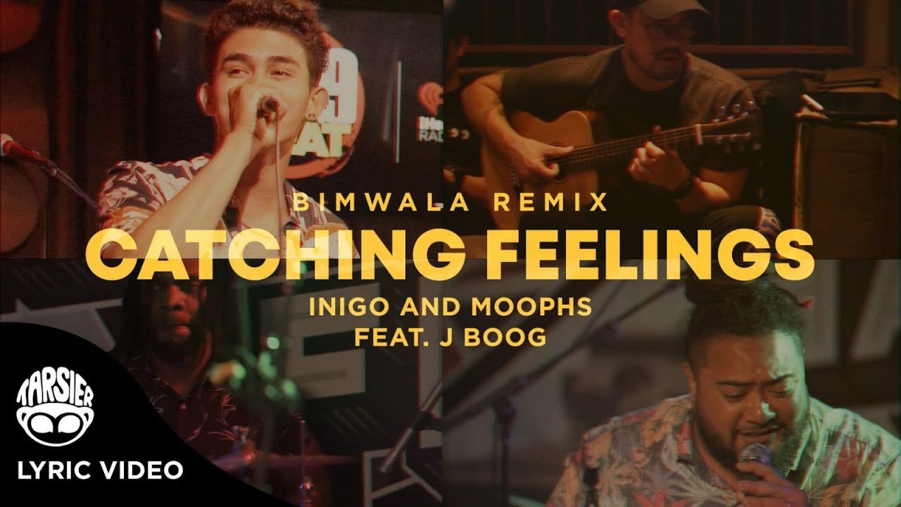 Inigo Pascual & Moophs feat. J Boog - Catching Feelings (Bimwala Remix) [Lyric Video] [12/10/2020]