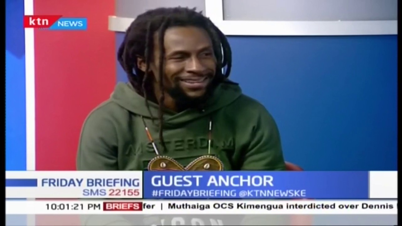 Jah Cure Interview @ KTN News Kenya [7/5/2019]