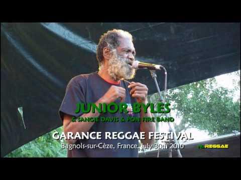 Junior Byles - Beat Down Babylon @ Garance Reggae Festival 2010 [7/30/2010]