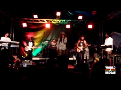 Ziggi Recado & The Force - Liberation @ Rastaplas 2014 [7/19/2014]