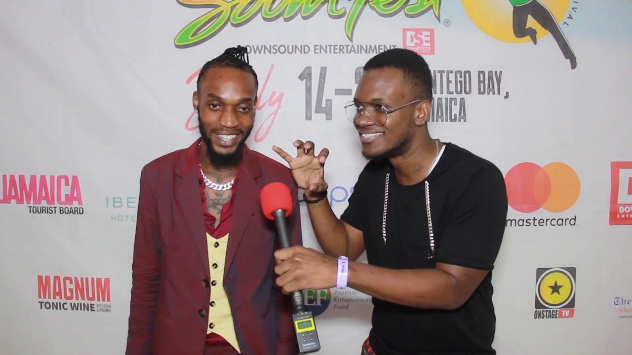 I Waata Interview by Dutty Berry @ Reggae Sumfest 2019 [7/19/2019]