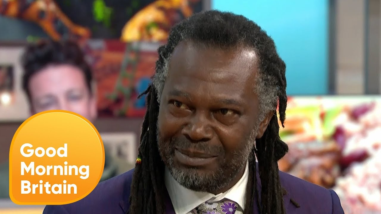 Levi Roots & Rustie Lee About Jamie Oliver's Punchy Jerk Rice @ Good Morning Britain [8/20/2018]