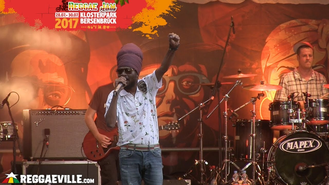 Perfect Giddimani & House of Riddim @ Reggae Jam 2017 [7/30/2017]