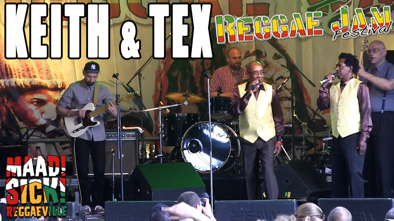 Keith & Tex with The Easy Snappers - Walking Down The Street @ Reggae Jam 2015 [7/26/2015]
