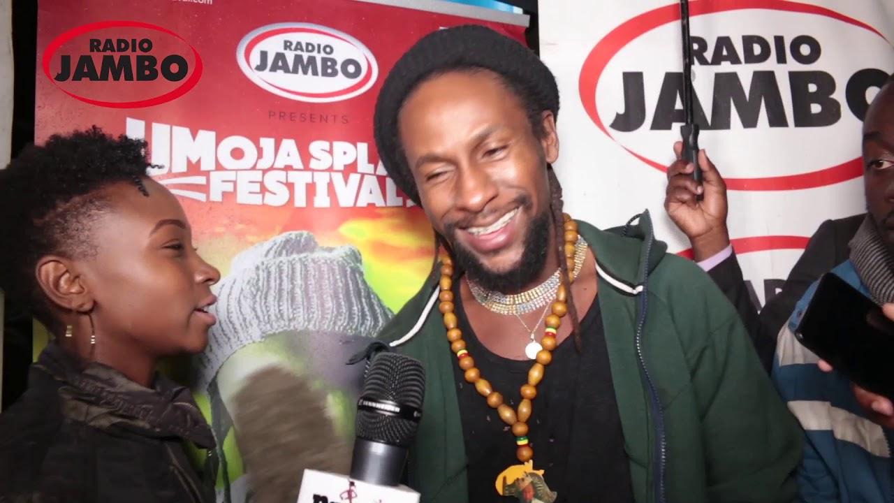 Jah Cure in Kenya (Radio Jambo KENYA) [7/3/2019]