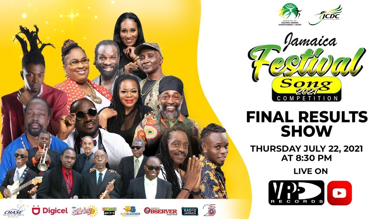Jamaica Festival 2021 Song Competition Final Results (Live Stream) [7/23/2021]