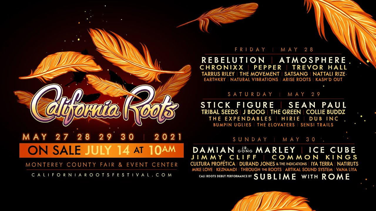 Califronia Roots Festival 2021 (Trailer) [7/13/2020]