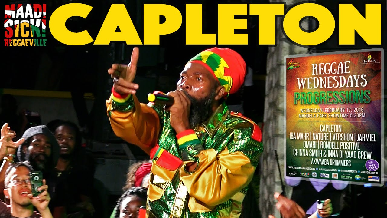 Capleton @ Reggae Wednesdays - Progressions 2016 in Kingston, Jamaica [2/17/2016]