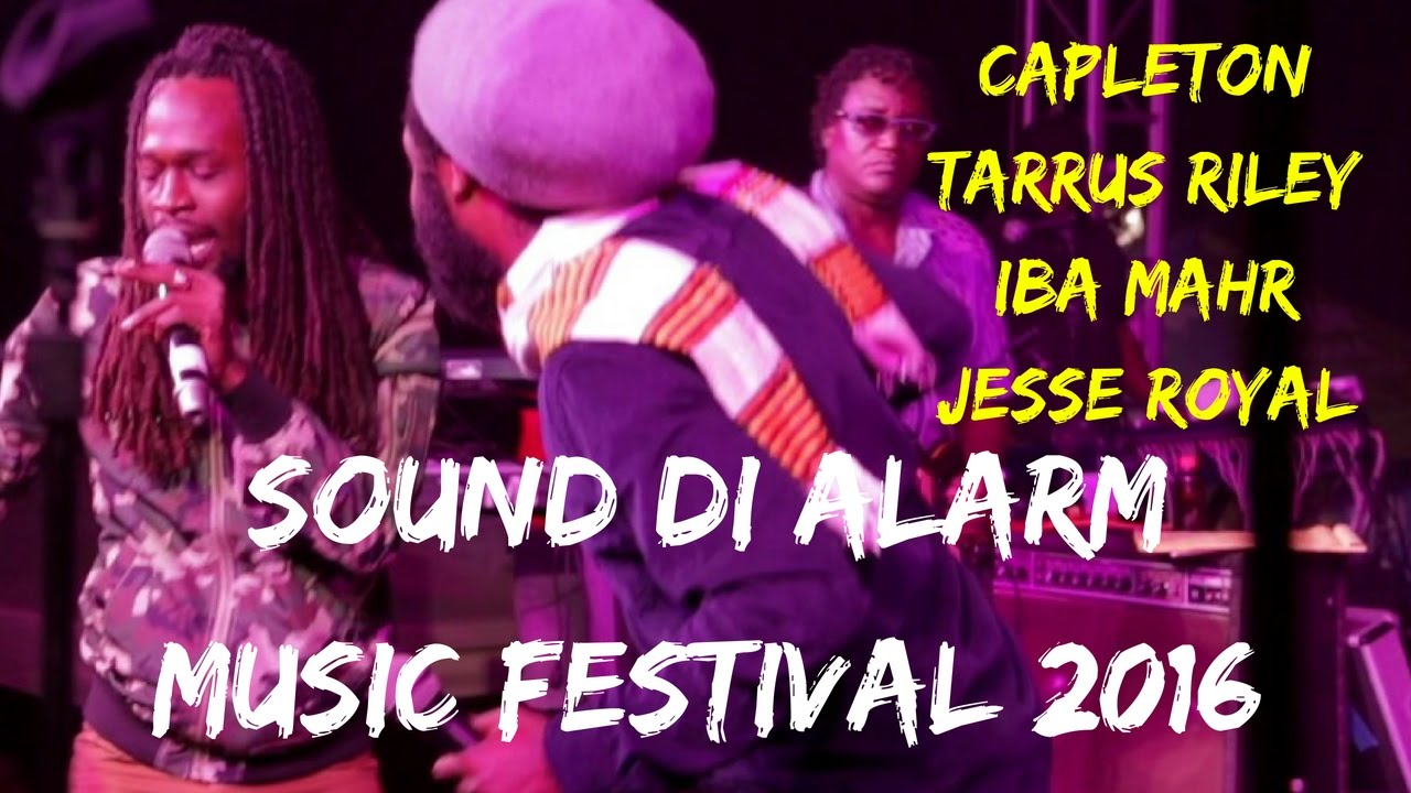 Capleton, Tarrus Riley, I-Wayne, Chuck Fenda, Iba Mahr, Jesse Royal & Kabaka Pyramid @ Sound Di Alarm 2016 [12/31/2016]