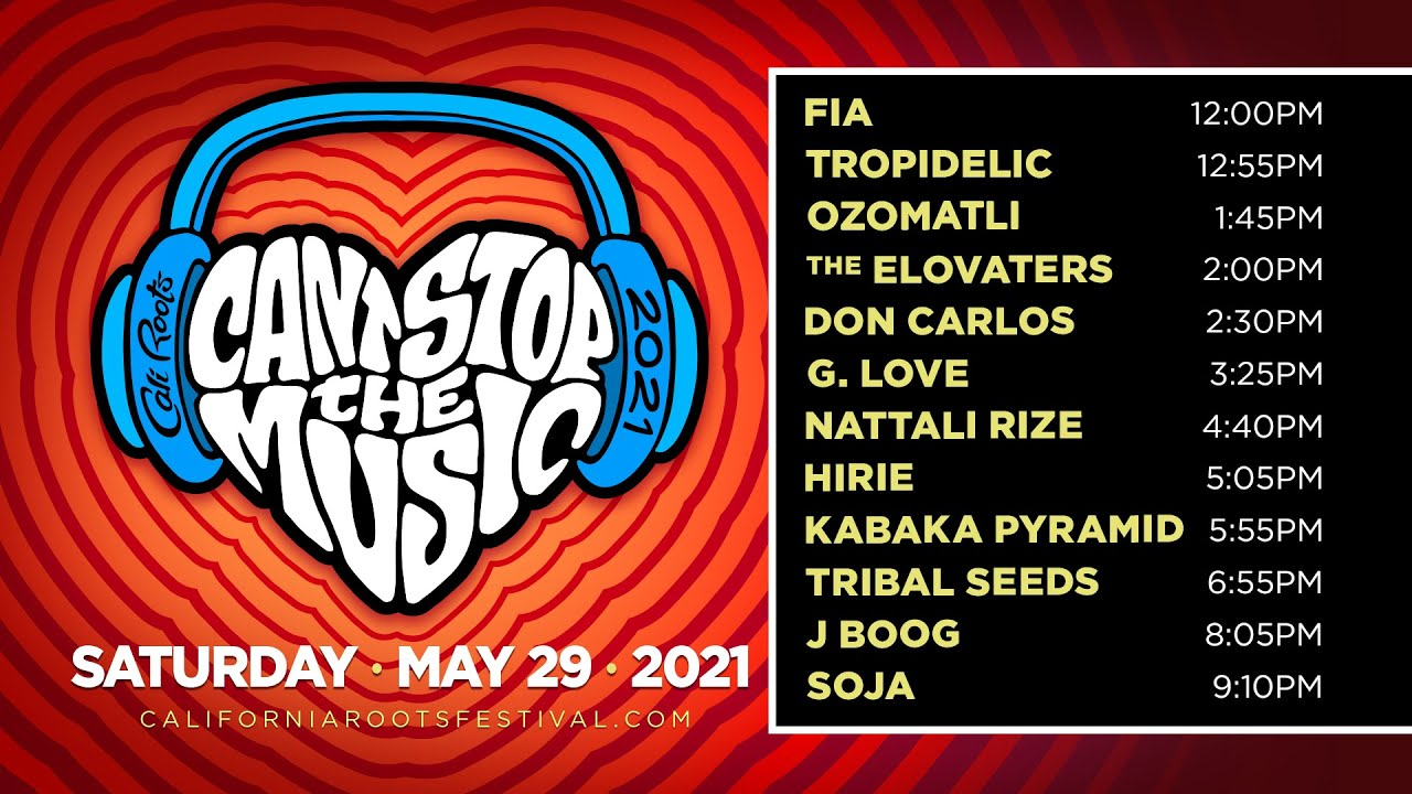 Can't Stop The Music Online Festival 2021 (Day 2) [5/29/2021]