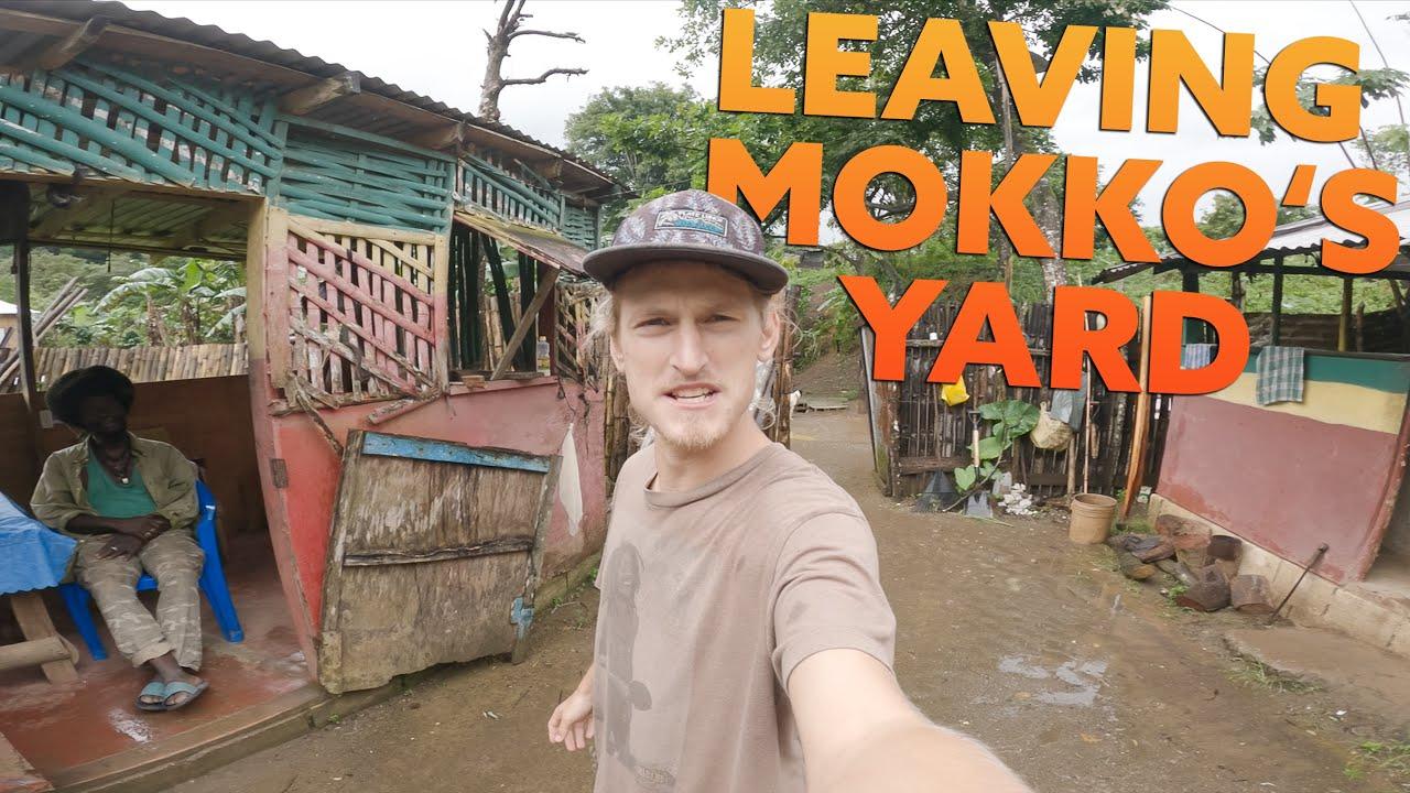 Backpacking Simon - Leaving Mokko's Yard [7/16/2021]