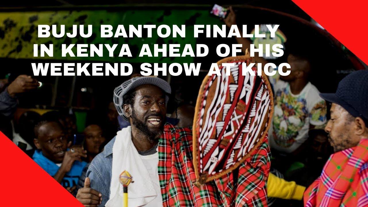 Buju Banton in Kenya (Nairobi News) [2/14/2020]