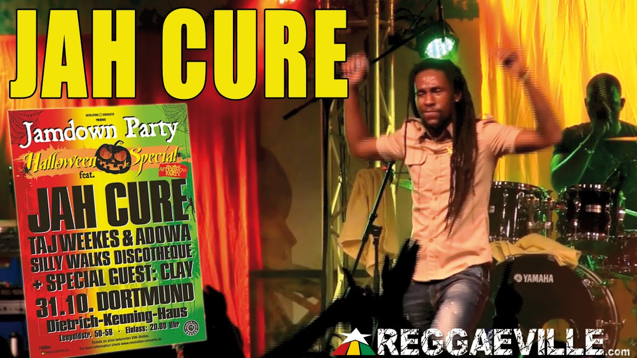Jah Cure - All Of Me @ Jamdown Party in Dortmund, Germany [10/31/2014]